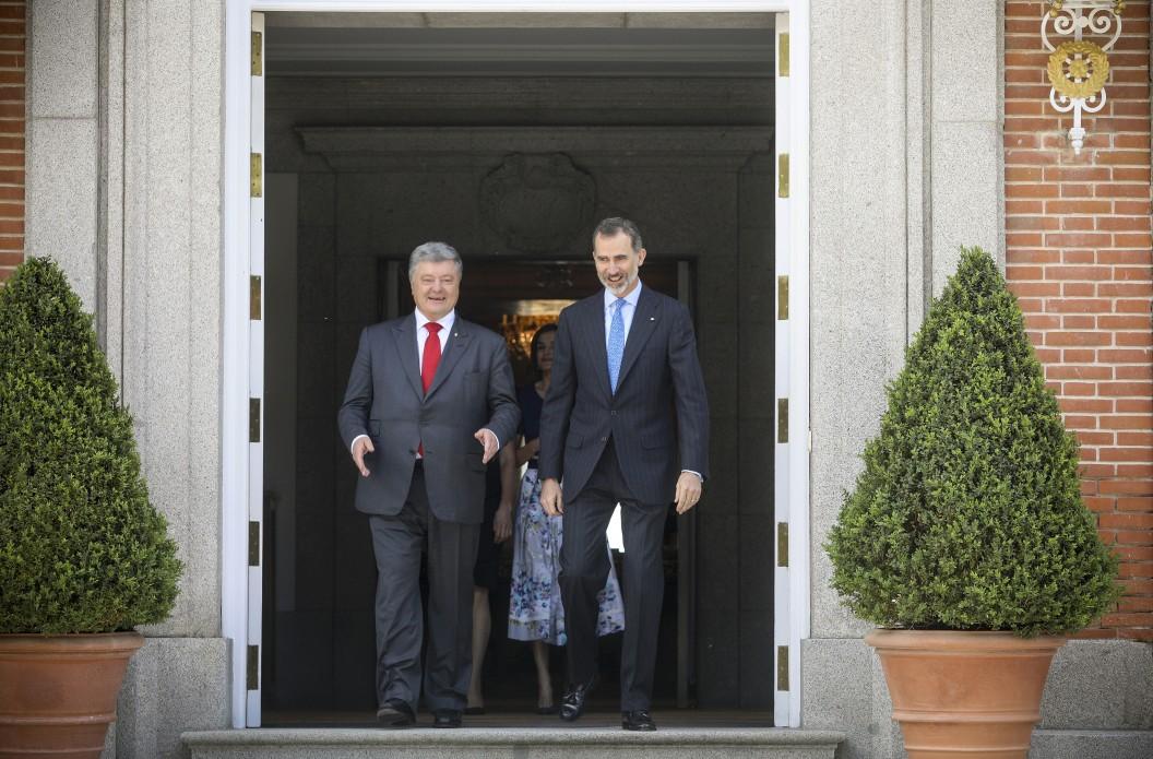 Президент України провів зустріч із Королем Іспанії