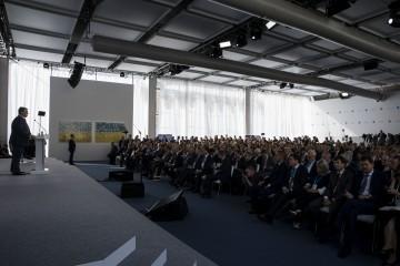 Виступ Президента на 15-й щорічній зустрічі Ялтинської європейської стратегії (YES)