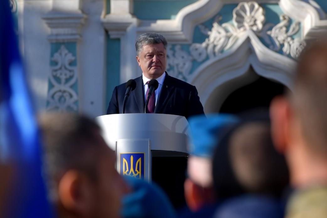 Виступ Президента України під час участі у молитовному заході за Україну