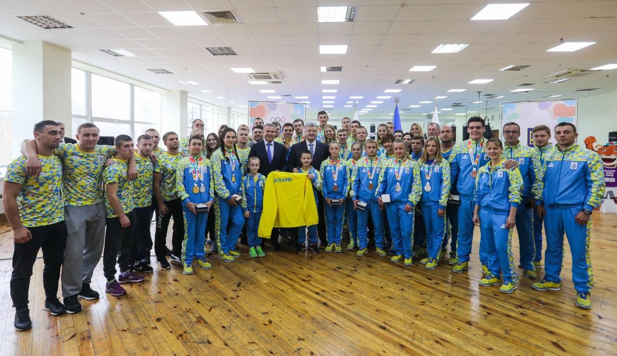 Ви прославили Україну – Президент привітав переможців та призерів ІІІ юнацьких Олімпійських ігор