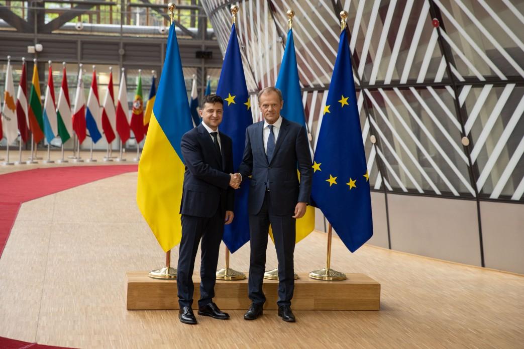 Володимир Зеленський у Брюсселі закликав ЄС посилити санкційний тиск на Росію