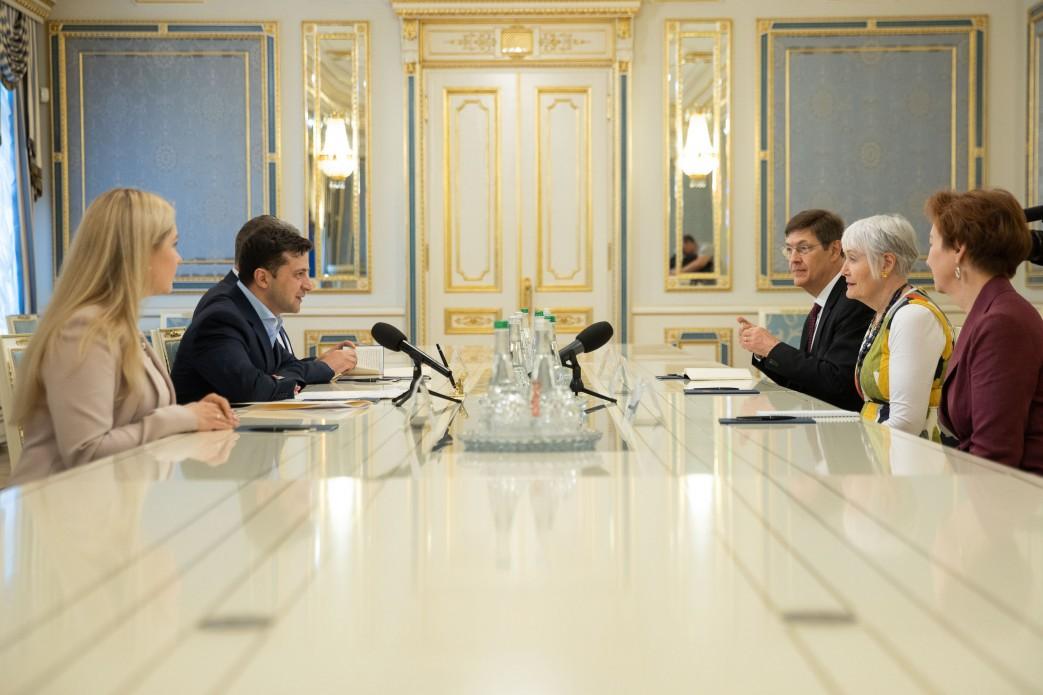 Володимир Зеленський зустрівся з Президентом Парламентської асамблеї НАТО